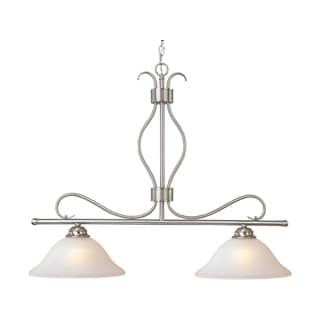 Maxim Lighting Basix 2-light Chrome Pendant