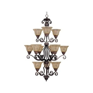 Maxim Lighting Symphony 12-light Bronze Chandelier