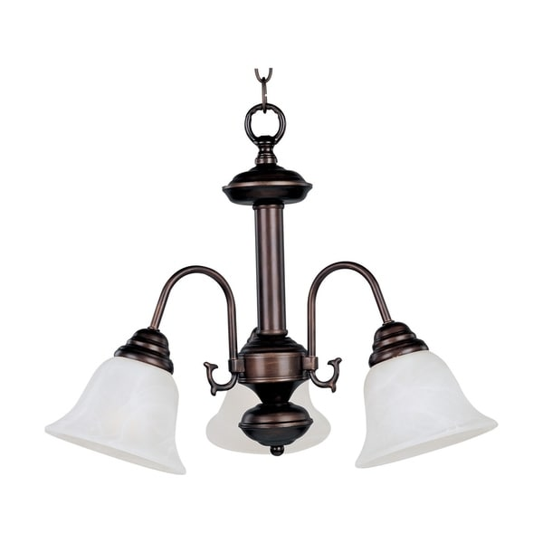 Maxim lighting malaga 3 light iron chrome chandelier
