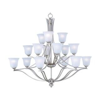 Maxim Lighting Madera 15-light Silver Chandelier
