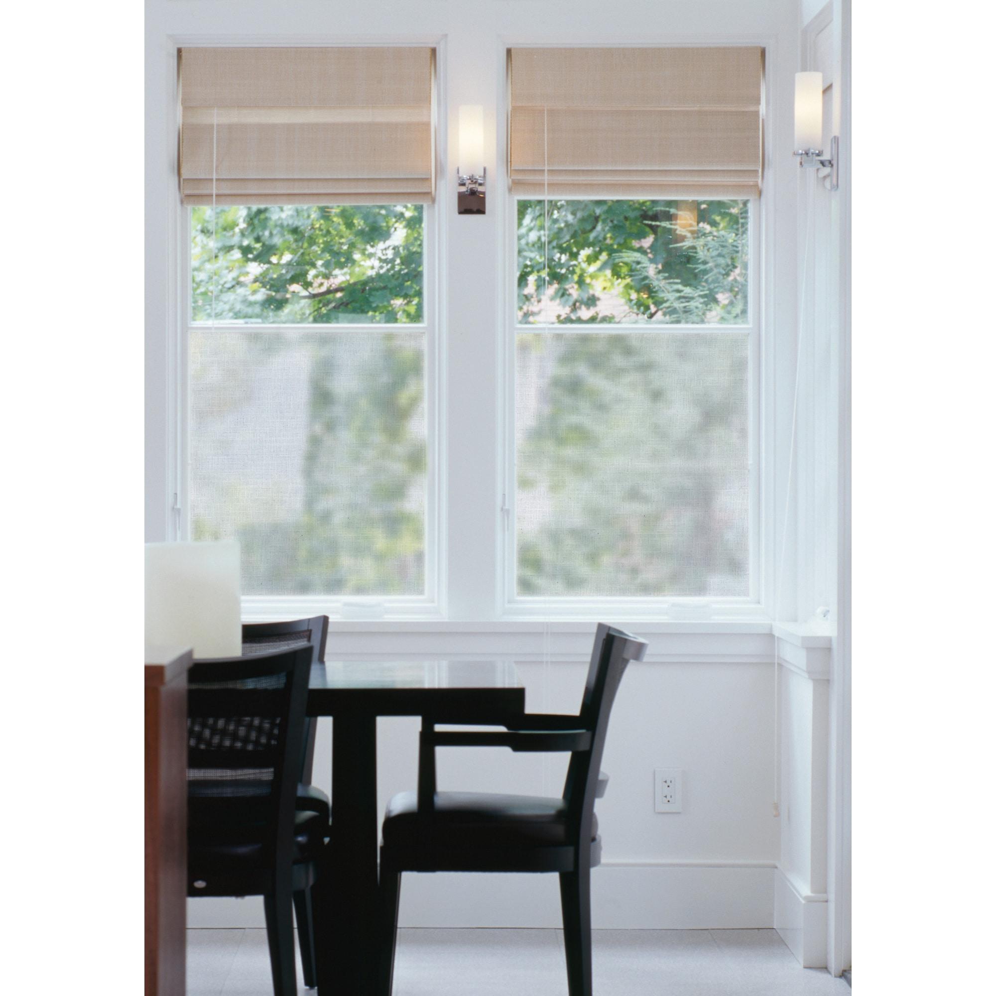 Brewster Linen Window Film (Grey) (Plastic)