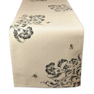 Busy Bees Embroidered Table Runner