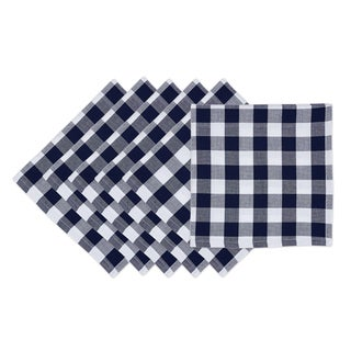 Nautical Checker Napkin (Set of 6)