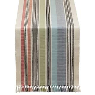 Mediterranean Stripe Fringed Table Runner|https://ak1.ostkcdn.com/images/products/9831639/P16995512.jpg?impolicy=medium