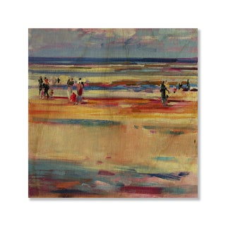 Gallery Direct Peter Graham's 'Boulevard de Boudin' Print on Wood