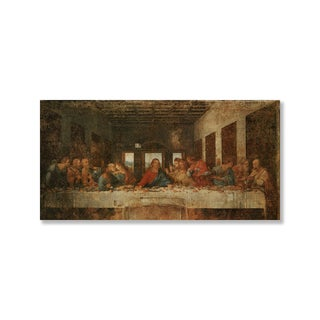 Gallery Direct Leonardo Da Vinci's 'The Last Supper' Print on Wood