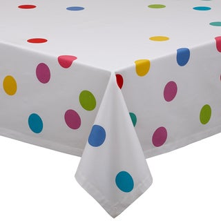 Confetti Print Cotton Tablecloth