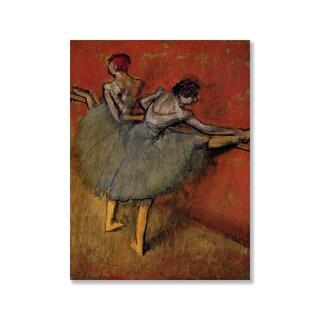 Gallery Direct Edgar Degas' 'Dancer at the Bar' Print on Wood