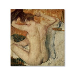 Gallery Direct Edgar Degas' 'Woman Toilette' Print on Wood