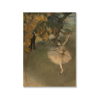 Gallery Direct Edgar Degas' 'The Star' Print on Wood