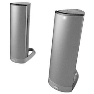 Dell AX210 2.0 Speaker System - 1.20 W RMS - Desktop - Black