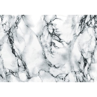 Grey and Black Marble Adhesive Film