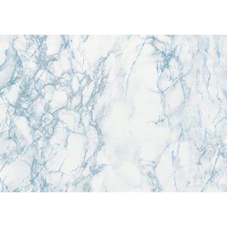Grey and Blue Marble Adhesive Film
