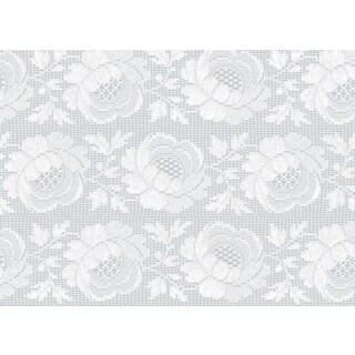Crochet Floral Window Film