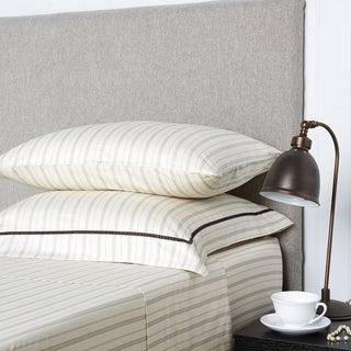 Christy Bloomsbury 100-percent Cotton Stripe Sheets