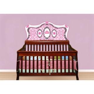 Diva Baby Pink Princess Crib Mural