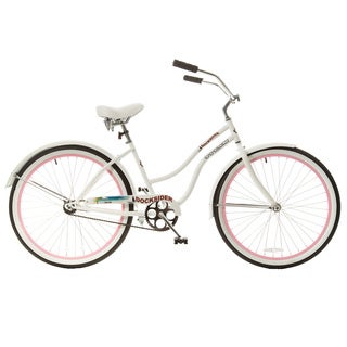Titan Docksider Single Speed Womens Beach Cruiser Bicycle