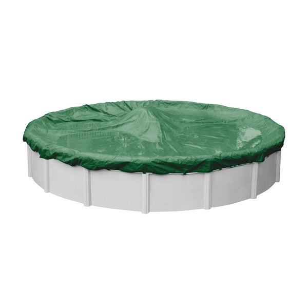 Robelle Next-Generation Titan Ripshield Winter Cover for Round Above-Ground Pools