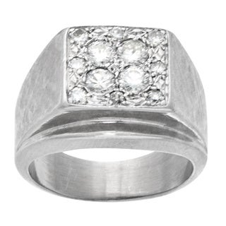 14k White Gold .75ct TDW Pave Diamonds Top Estate Ring (G-H, VS1-VS2)