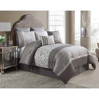 Arcadia 8-piece King Comforter Set (As Is Item)