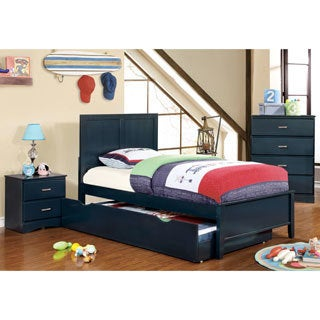 Furniture of America Colorpop 4-piece Twin Youth Bedroom Set (3 options available)