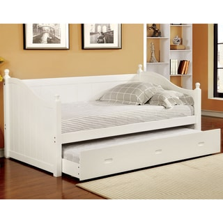 Furniture of America Cornelia Cottage Style Trundle Daybed