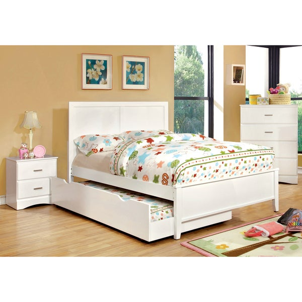 Furniture Of America Colorpop 4 Piece Full Size Youth Bedroom Set