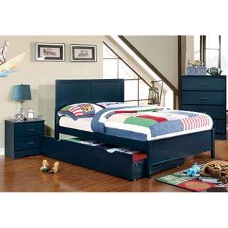 Furniture of America Colorpop 4-piece Full-size Youth Bedroom Set
