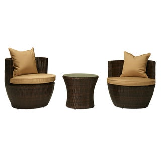 Luna Outdoor Round Rattan Patio Chair Free Shipping