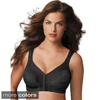 Playtex 18 Hour 'Easier On' Front-Close Wirefree Bra with Flex Back