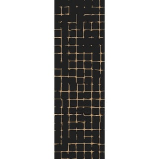 Hand-Tufted Amelie Geometric Wool Area Rug