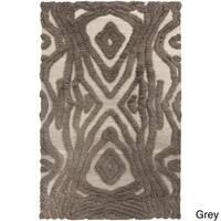 Hand-Woven Adriana Abstract Wool Area Rug - 5' x 8'