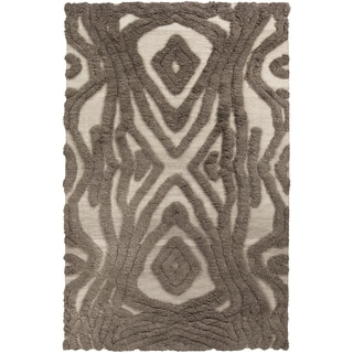 Hand-woven Adriana Abstract Wool Rug (2' x 3')