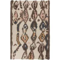 Hand-Woven Alisson Abstract Wool Area Rug - 8' x 11'
