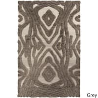 Hand-Woven Adriana Abstract Wool Area Rug - 8' x 11'