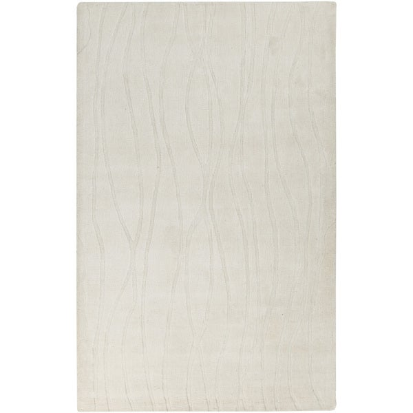 Handmade Ainsley Solid Pattern Indoor Area Rug