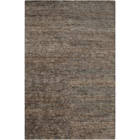Hand-Knotted Sheryl Abstract Pattern Jute Area Rug - 2' x 3'