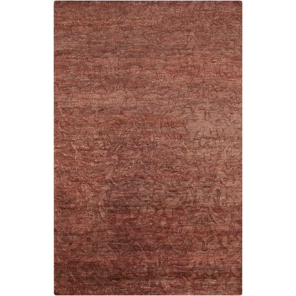 Hand-Knotted Sheryl Abstract Pattern Jute Rug (5' x 8')