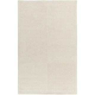 Hand-tufted Hailee Solid Wool Rug (2' x 3')