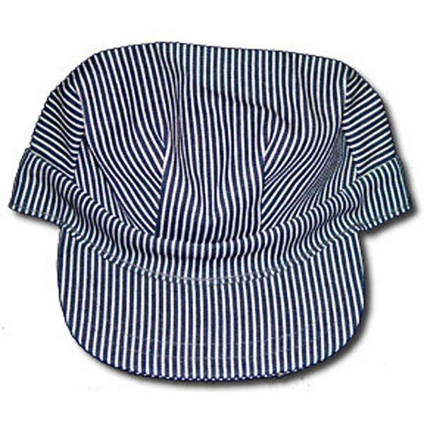 Shop Adult Blue  White Train Conductor Hat - Free Shipping On Orders Over   45 - Overstock - 9833890 02e562755a58