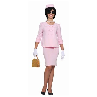 Women's Jackie O Pink Suit Dress Costume