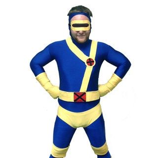 Adult X-Men Cyclops Costume Body Suit