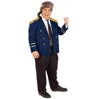 Adult Ralph Kramden Raccoon Lodge Costume