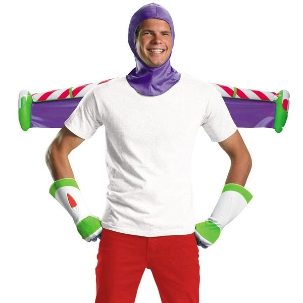 Shop Mens Toy Story Buzz Lightyear Adult Costume Kit - Free Shipping On Orders Over -4320
