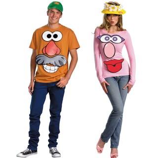 Mr. and Mrs. Potato Head Couples Costume Kit