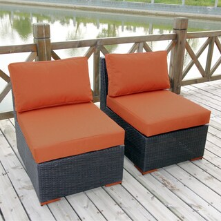 Andover 2-piece Armless Chair Set