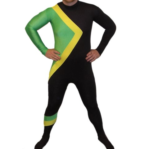 Jamaican Bobsled Team Spandex Costume