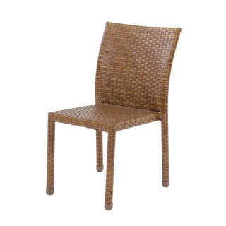 Panama Jack St Barths Brown Stackable Side Chair