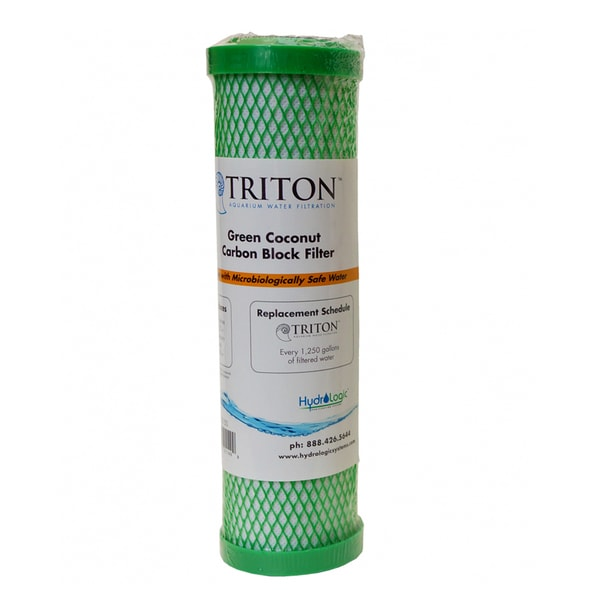 22150 Triton Replacement Green Coconut Carbon Block Filter