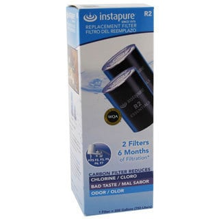 R2-2PK Instapure Essentials Faucet Filter Replacement Cartridge (Pack of 2)